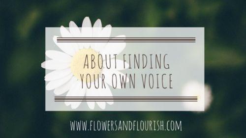 Flowers and Flourish