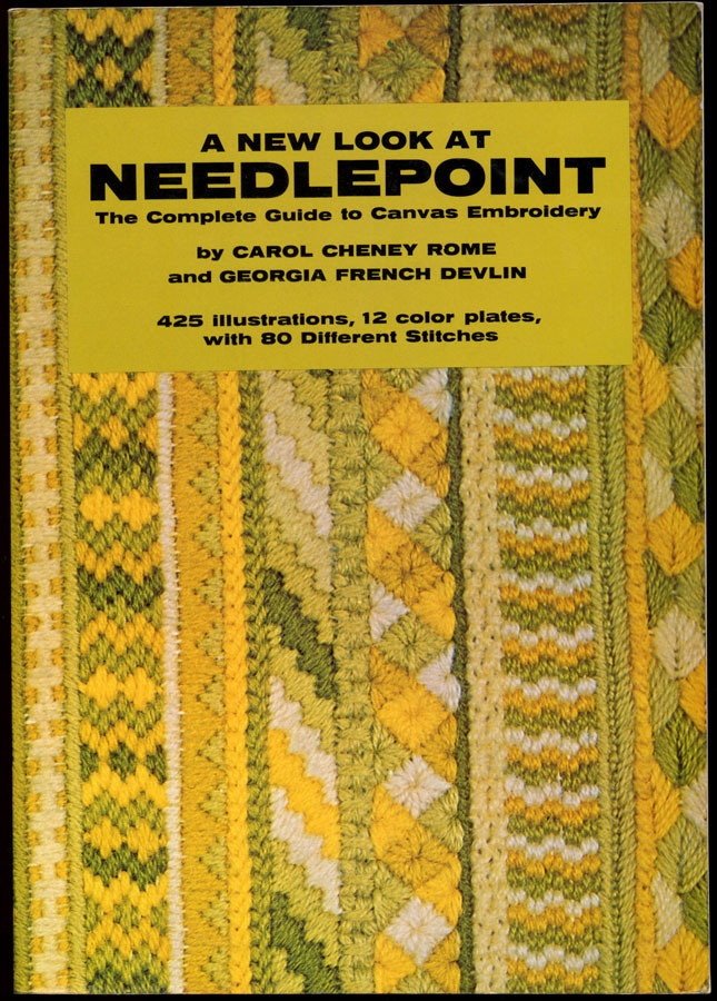Needlepoint Techniques Canvas Embroidery Stitches Designs Book   Projects 0517500167 on eBay