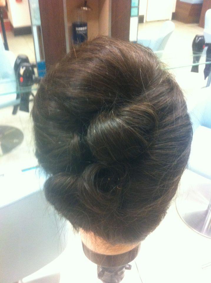 #Wedding hair up