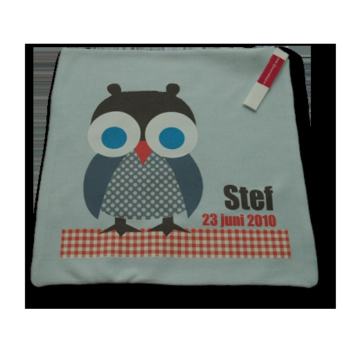 Cuddle Cloth with full color print   knuffeldoekje met full color bedrukking #knuffeldoekje #geboortekleed