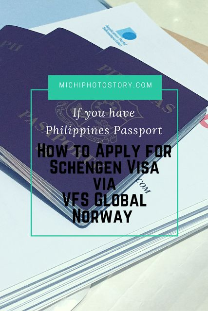For Philippibes Passport Holder: How to Apply for Schengen Visa via VFS Global Norway