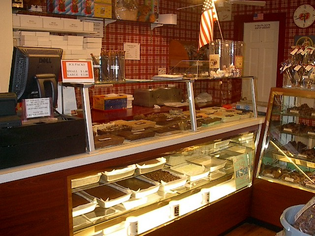 "Chocolate lovers, rejoice! Skip's Candy Corner is a delicious store for nostalgic and handmade chocolate. This photo is part of the Visit Bucks County ""Repin It To Win It Contest."" Repin this photo until May 1, 2012 to win 1 ½ pounds of fudge from Skip's Candy Corner."