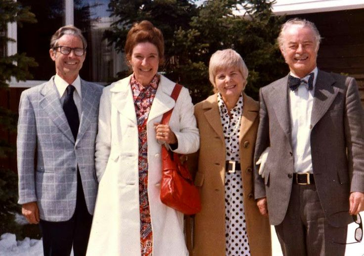 with Dad, Oren and Grace in the sixties