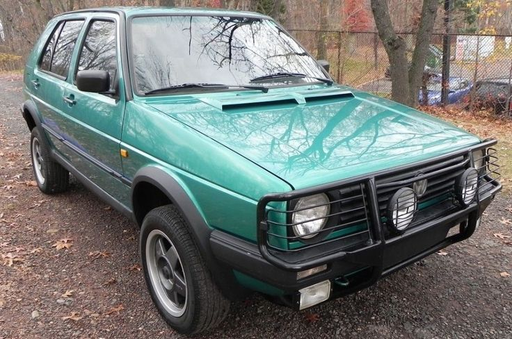 Surf Green Syncro: VW Golf Country - http://barnfinds.com/surf-green-syncro-vw-golf-country/