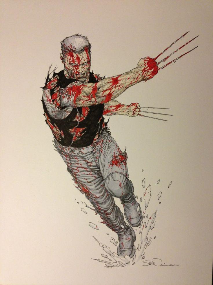 Old Man Logan by Steve McNiven  Comic Art