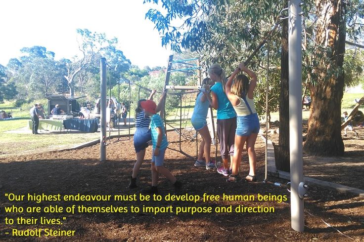 Steiner Inspiration: Our highest endeavour must be to develop free human beings who are able of themselves to impart purpose and direction to their lives.