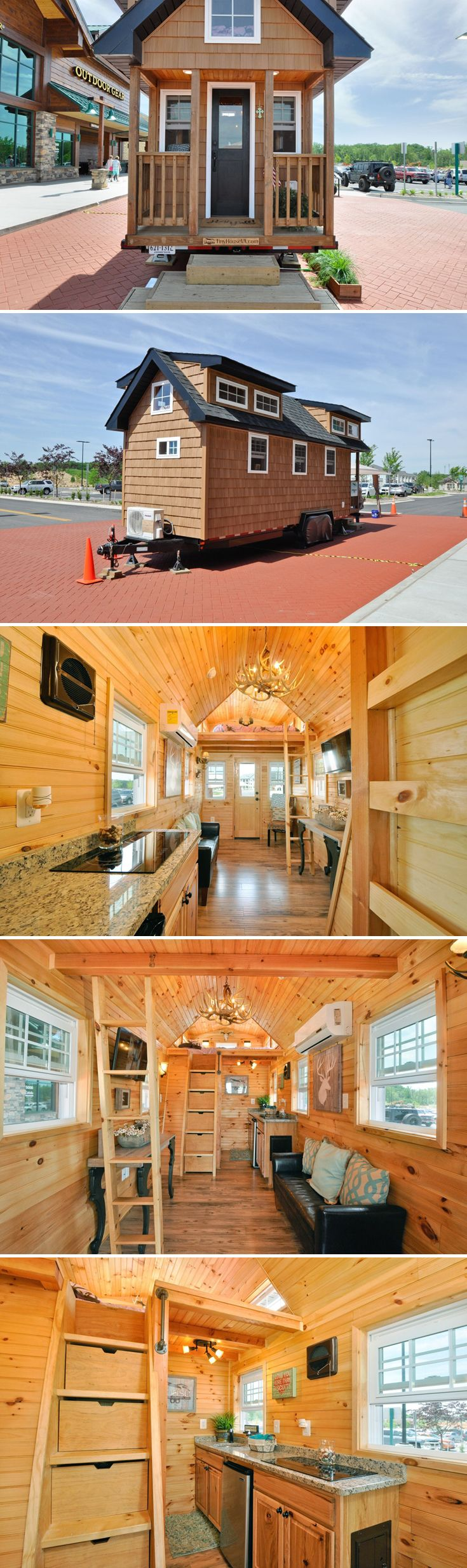 1000 ideas about tiny houses on pinterest tiny homes for Energy efficient tiny homes