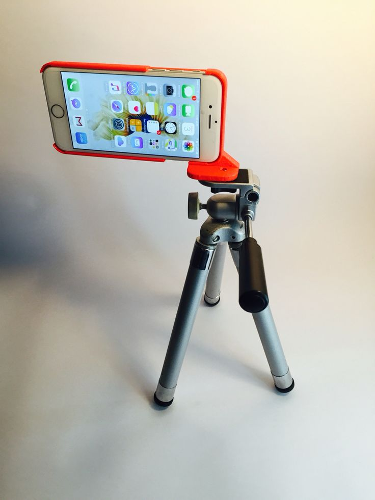 Impresión 3D de base para trípode iPhone 6/6S