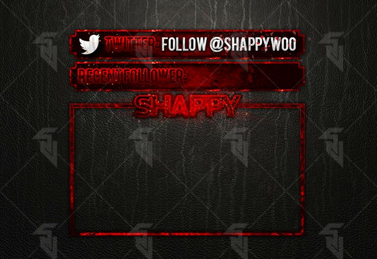 Shappywoo - Webcam Overlay (Twitchtv) by StudioVulcan