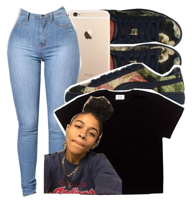 """""""Top - Lil Uzi """" by bhad-lexus ❤ liked on Polyvore featuring Puma"""