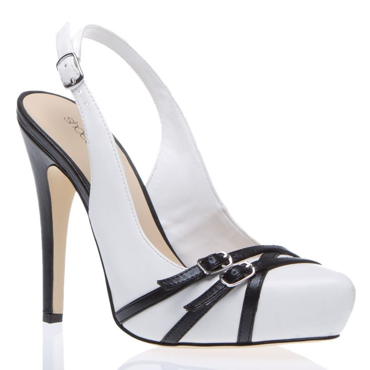 now in my closet !White Shoes, Shoes Dazzle, Wedding Shoes, Style, Black And White, Black White, Black Heels, Shoedazzle Com, New Shoes
