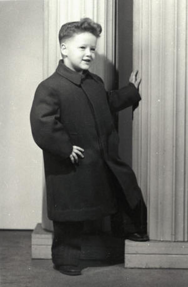 Bill Clinton as a Four Year Old