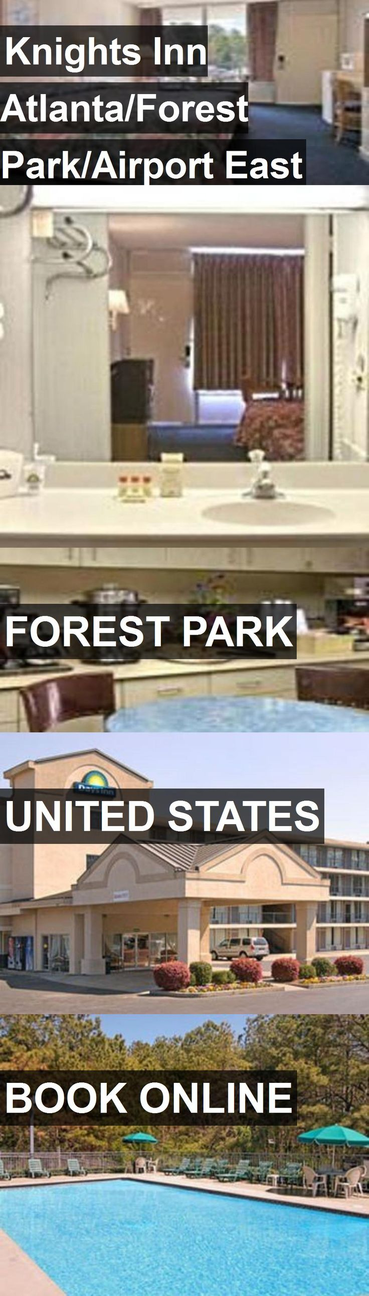 Hotel Knights Inn Atlanta/Forest Park/Airport East in Forest Park, United States. For more information, photos, reviews and best prices please follow the link. #UnitedStates #ForestPark #travel #vacation #hotel
