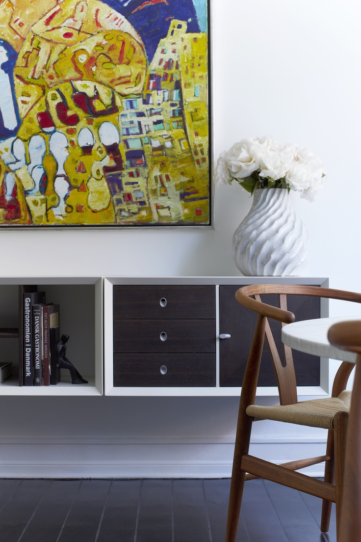 Scandinavian style interior in my small 635 sq. ft apartment, Copenhagen