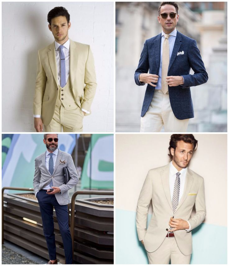 How to Wear a Summer Suit to a Wedding: Mens Style Guide