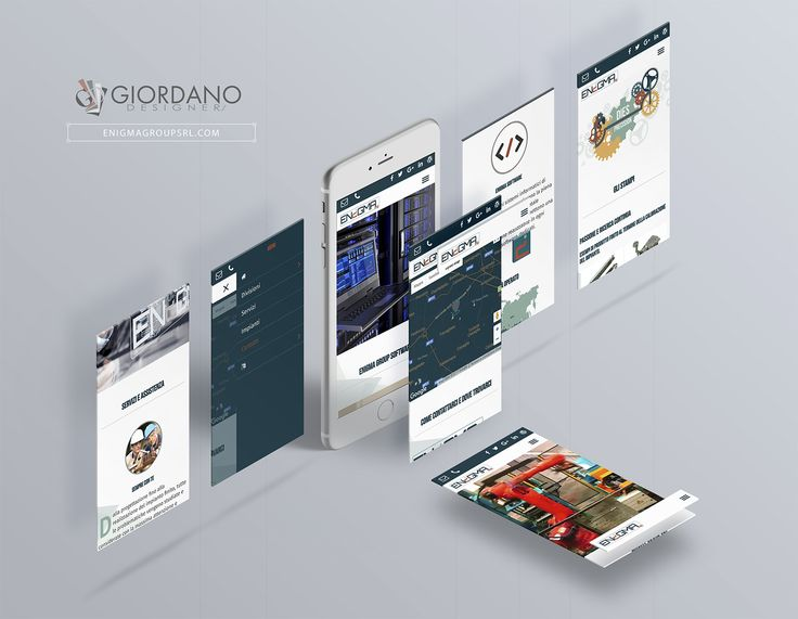 Uno sguardo al progetto completo Enigma Group ... A look at the complete Enigma Group project ... #Branding #WebDesign #WebTypography #MobileFriendly #UserExperience #WebDeveloper #ResponsiveDesign #SiteOfTheDay #CorporateIdentity #UI