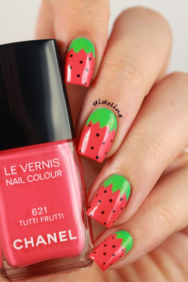 Chanel - Tutti Frutti ~ Didoline's Nails