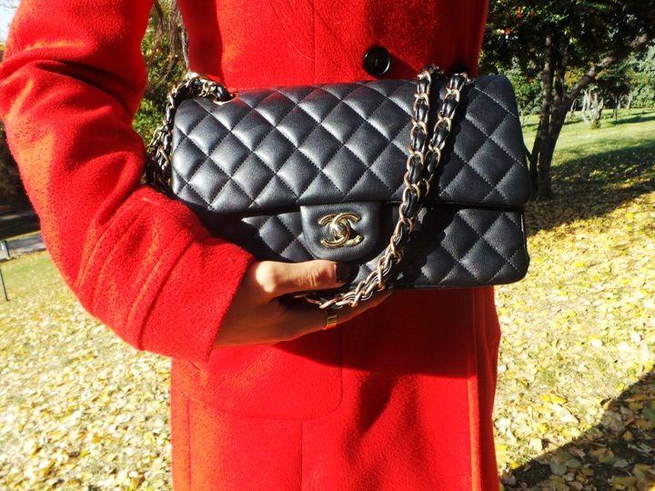 chanel bag 2.55 zincirli kapiton çanta chanel çanta kombinleri küçük çantalar 2014 en moda çantalar moda blogger gleam fashion blog street s...