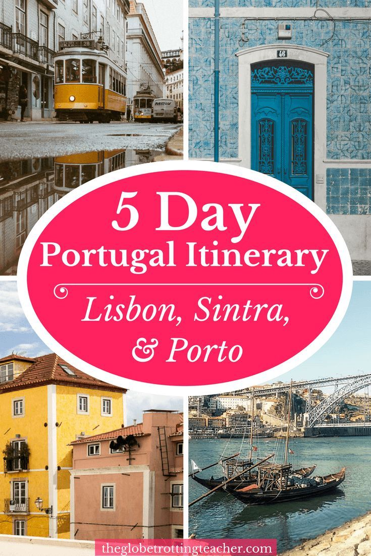 5 Days in Portugal Itinerary Lisbon Sintra