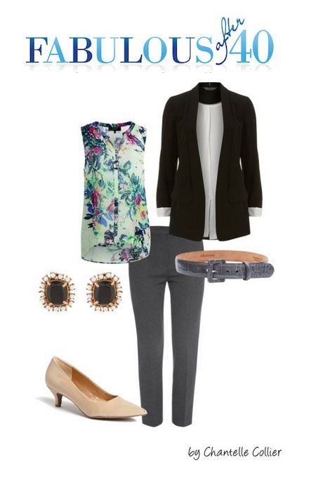 A light blazer is a stylish summer option that's great to wear to work.