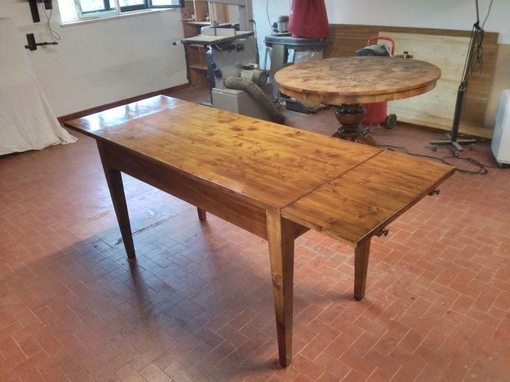 """RestauriRaia.com: Il restyling di un tavolo allungabile in abete massello, Cava dei Tirreni (SA) [gallery ids=""""775,778,782,783,784,1036,1037,1038""""]... Dario Raia"""