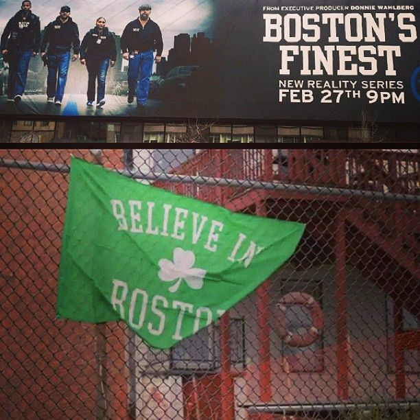 Quick reminder to set your DVRs to record Boston's Finest tonight 9/8 Central on TNT.  The show used our kelly green Believe in Boston Flag in their promos, confirming their excellent decision making.