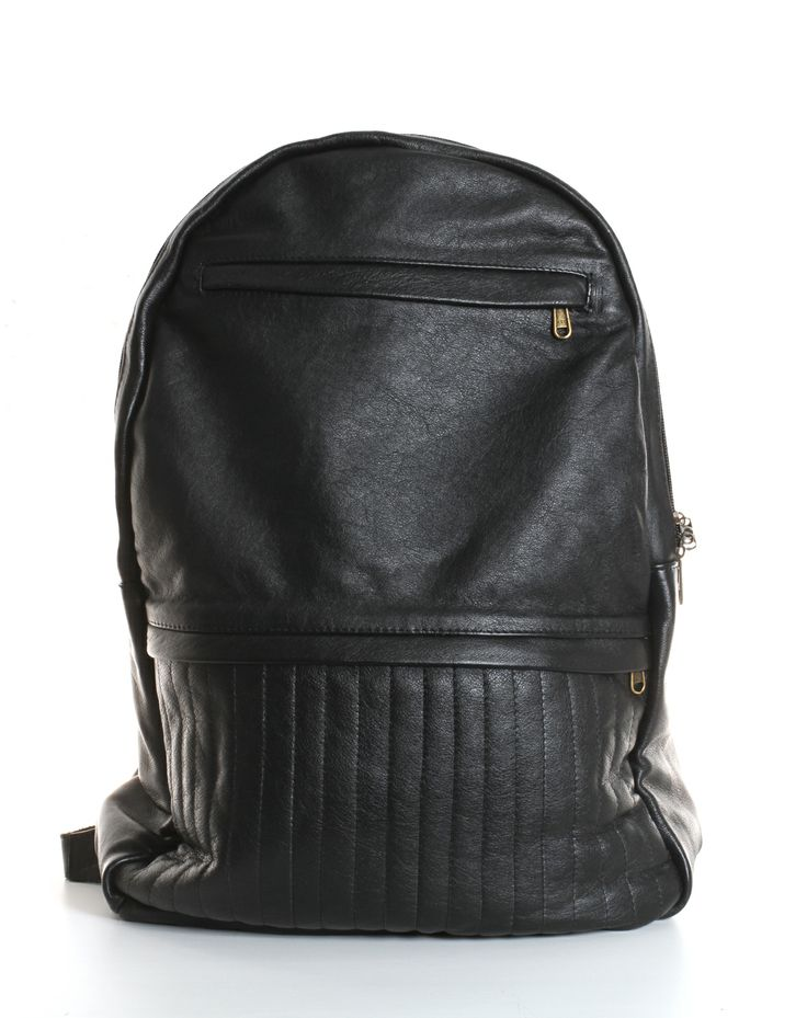 Bourbon Leather Backpack – Black by Dark Horse