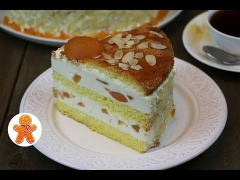 Великолепный творожный торт с фруктами - Люблю готовить