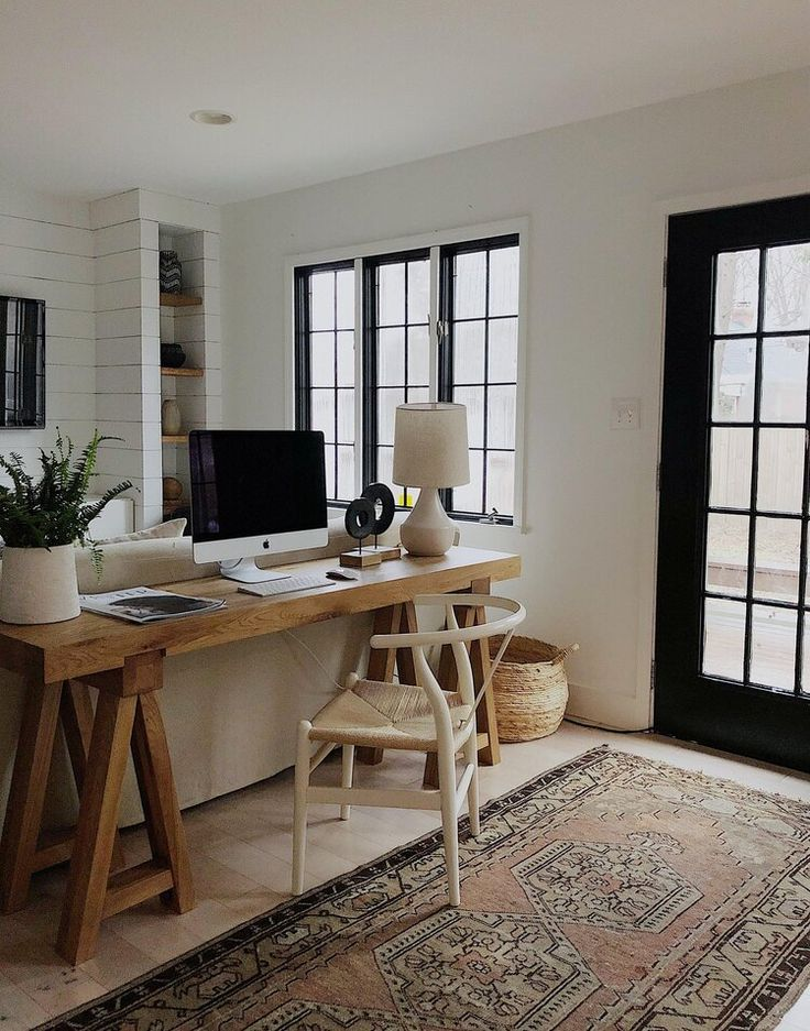 40 Inspiring Small Home Office Ideas in 2020 | Living room ...