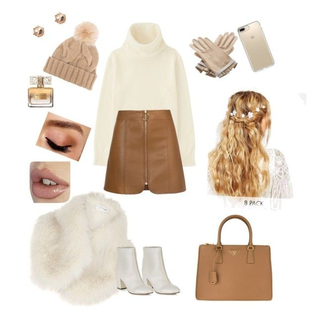 """#223152314"" by evaskar on Polyvore featuring River Island, Uniqlo, New Look, Prada, Speck, ASOS, Hermès, Loro Piana, Givenchy and Avon"