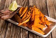 Grilled Sweet Potato Planks