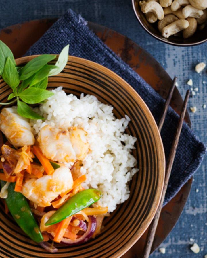 Wok on pikaruokaa, erityisesti vaaleasta kalasta tai kananpojan tai rypsiporsaan fileesuikaleesta kokattuna.