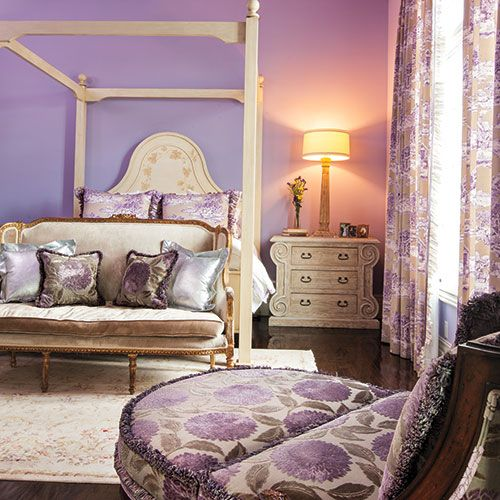 In The Violet Room, Designer Ou0027Meara Chose A French Theme, Outfitting The