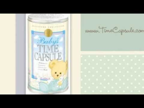 Decorate your Baby's Nursery with this unique and beautiful Baby's Time Capsule gift from www.timecapsule.com