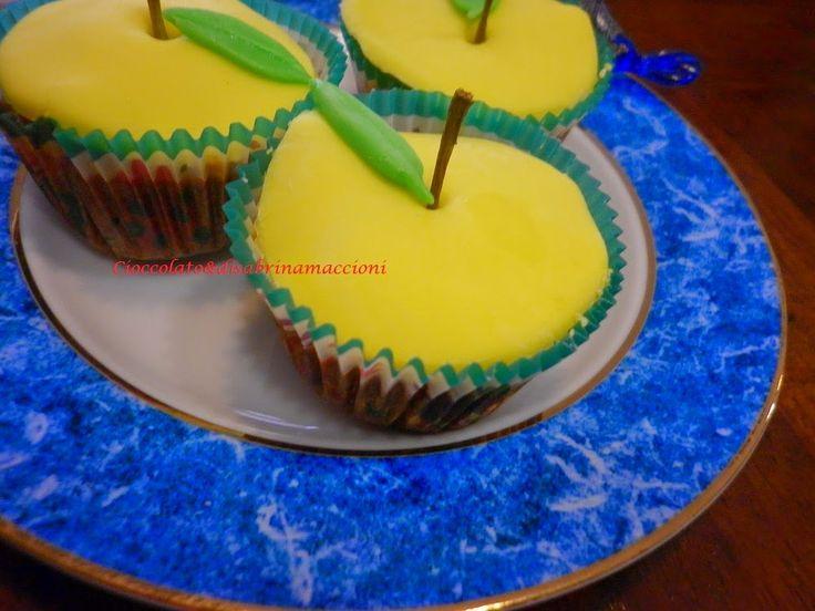 Cupcake Mela      Cioccolato... è                            :