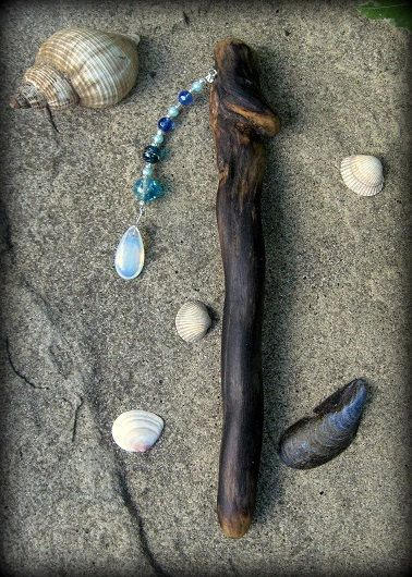 Witch Wands Real: Sea Witch Witchcraft Magic Sorcery By WytchenWood On Etsy