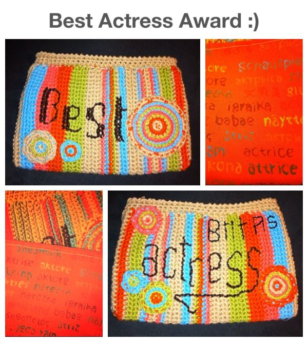 A special crochet purse to a special actress... Another order which I loved to make:) ... #crochet #custom #original #yarn