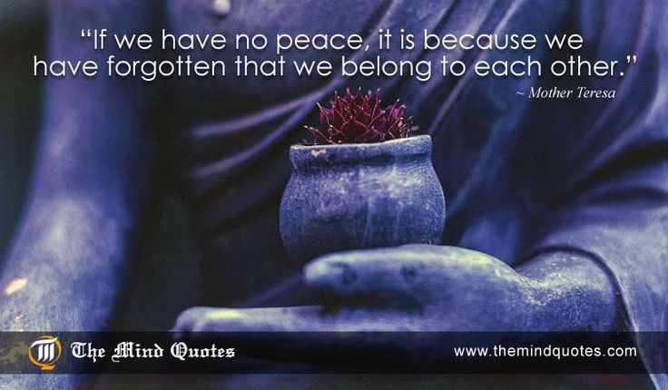 Mother Teresa Quotes on Wisdom and Peace