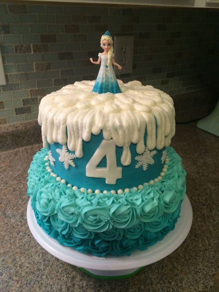 27+ Bestes Bild von Frozen Birthday Cake Frozen Birthday Cake Frozen Birthday …   – Food