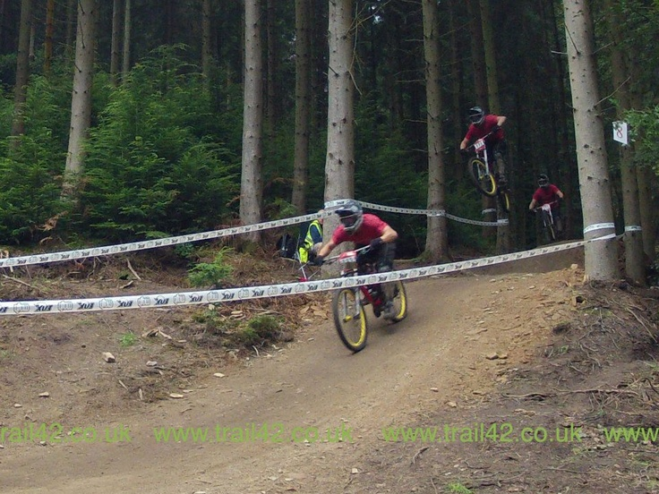 DTV DH Summer Race Series 2012 Round 3 in the Forest of Dean, UK
