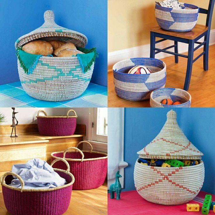Beautiful Handwoven Basket - Storage, Laundry & more See more @ 👉👉👉 www.africablooms.etsy.com  #love #basket #handmade #laundryroom #laundrybasket #fashiondiaries  #laundry #storagebasket