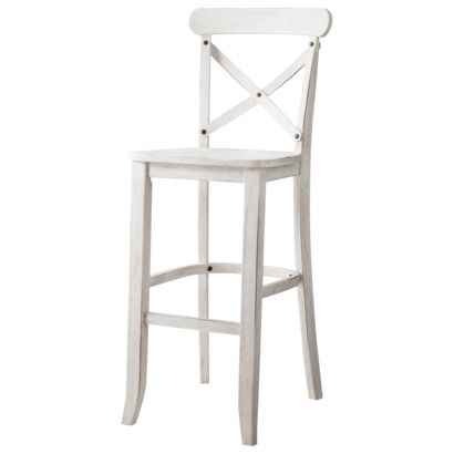 "maybe this look.....29"" French Country X-Back Bar Stool"