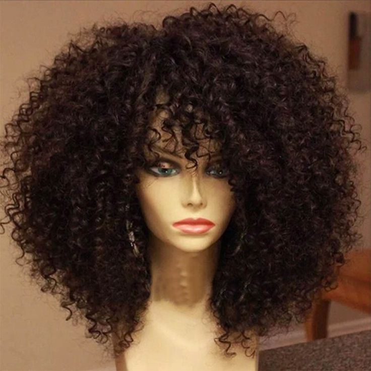 Brazilian Unprocessed Virgin Hair Full Lace Wig Kinky Curly Front Lace Wig Human Hair 100 Human Hair Wigs For African American-in Human Wigs from Health & Beauty on Aliexpress.com | Alibaba Group