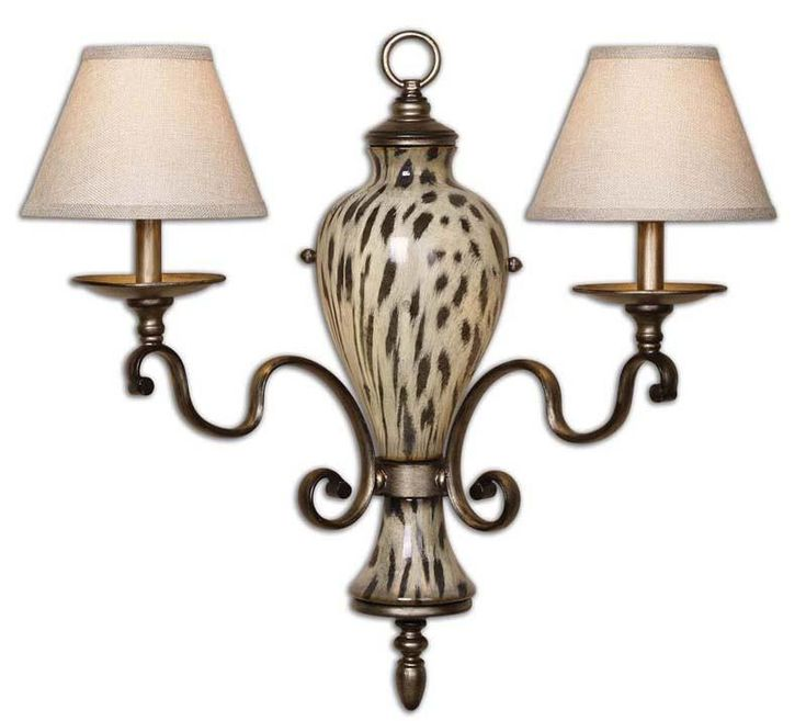 Uttermost 22489 Malawi 2 Light Wall Sconce