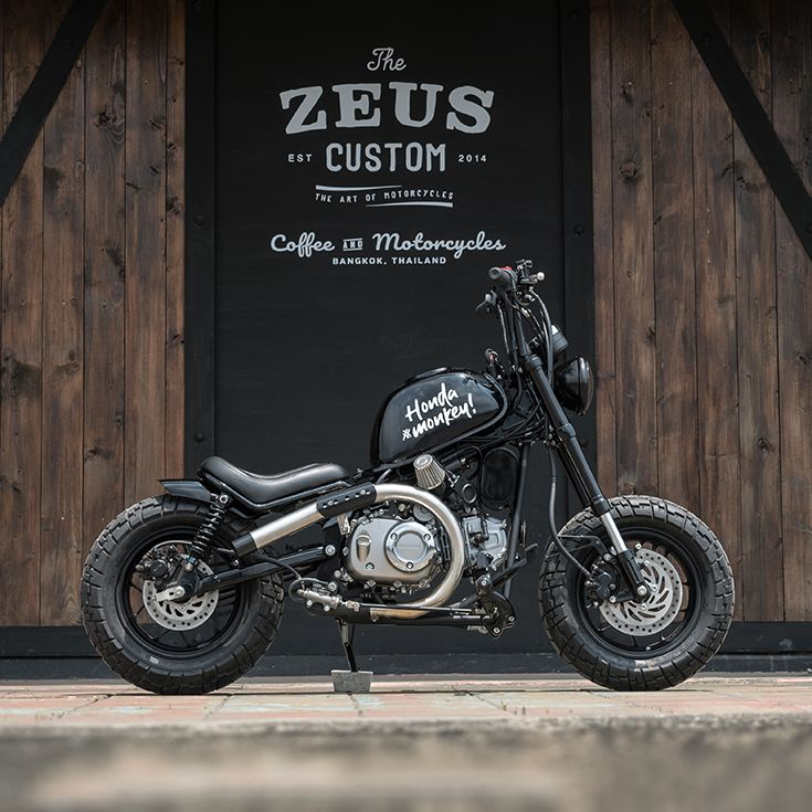 Custom Bikes Of The Week 13 October 2019 Custom Motorcycles Bobber Honda Grom Bobber Chopper