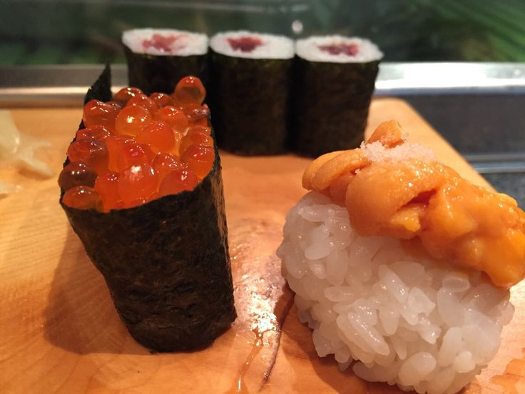 I ate fresh Sushi from the Tokyo fish market