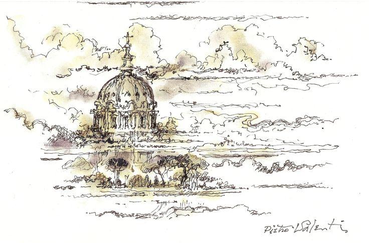 S. Pietro (e nuvole).