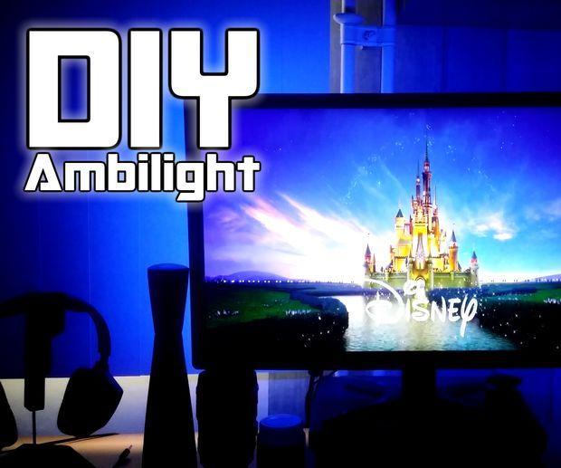 DIY | Ambilight using Arduino Nano
