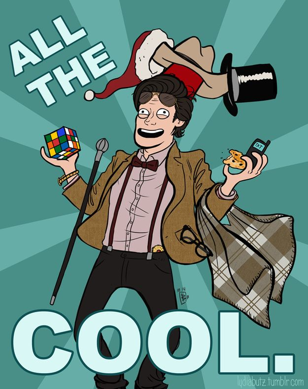 Matt Smiths Eleventh Doctor declared a number of things to be cool during his time on Doctor Who .