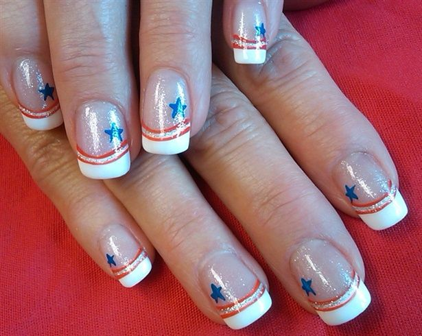 A patriotic salute - 191 Best Fourth Of July Patriotic Nail Design Images On Pinterest